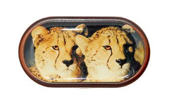 Pouzdro se zrcátkem Divoká zvířata - Gepardi