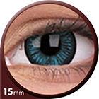 Phantasee Big Eyes - Beautiful Blue (2 čočky tříměsíční) - nedioptrické - doprodej