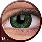 Phantasee Big Eyes - Lustrous Green (2 čočky tříměsíční) - nedioptrické