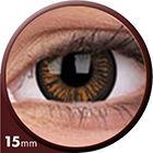 Phantasee Big Eyes - Charming Brown (2 čočky tříměsíční) - nedioptrické - doprodej