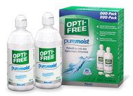 Opti-Free PureMoist 2 x 300 ml s pouzdry