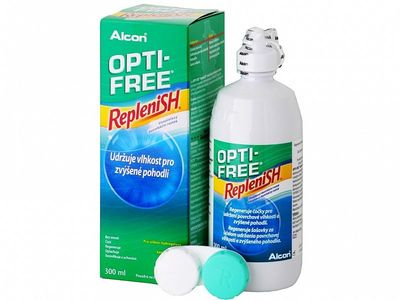 Opti-Free RepleniSH 300 ml s pouzdrem