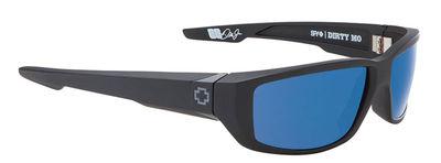SPY sluneční brýle DIRTY MO Matte Black Blue - Polarizační
