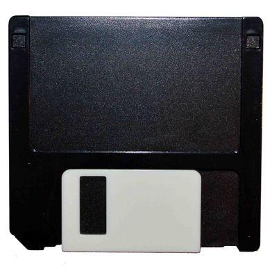 Pouzdro sestava disketa - černá