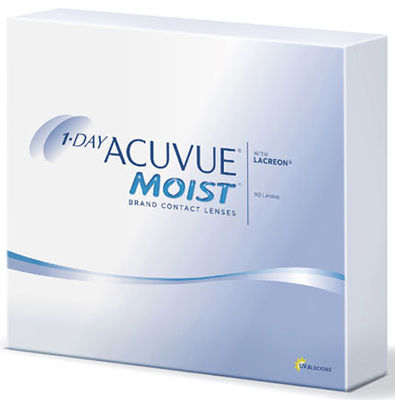 1-Day Acuvue Moist (90 čoček)
