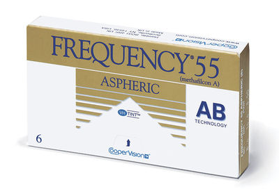 Frequency 55 Aspheric (6 čoček) - Doprodej