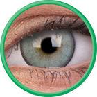 ColourVue Lumina - Gleaming Green (2 čočky tříměsíční s pouzdrem) - nedioptrické