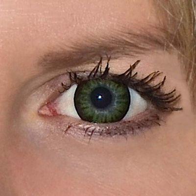 f18b599b3 ColourVue Big Eyes - Party Green (2 čočky tříměsíční) - dioptrické ...