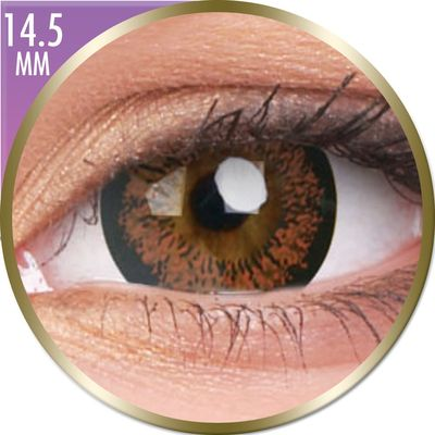 Phantasee Big Eyes - Angel Hazel (2 čočky měsíční) - nedioptrické