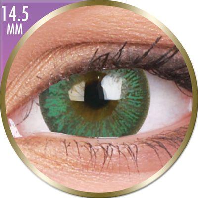 Phantasee Big Eyes - Paris Green (2 ks měsíční) dioptrické - doprodej