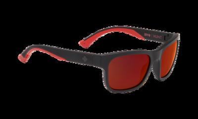 SPY sluneční brýle HUNT Matte Black - Red