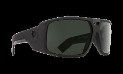 SPY Sluneční brýle Touring Soft Matte Black - happy