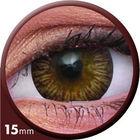 ColourVue Big Eyes - Enchanter Brown (2 čočky tříměsíční) - nedioptrické
