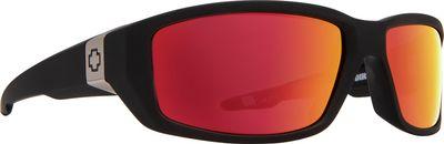 SPY sluneční brýle DIRTY MO Soft Matte Black - Red