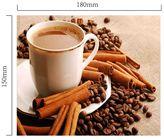 Hadřík na brýle z mikrovlákna - Káva