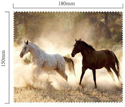 Hadřík na brýle z mikrovlákna - Koně