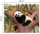 Hadřík na brýle z mikrovlákna - Panda
