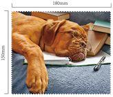 Hadřík na brýle z mikrovlákna - Pes