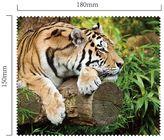 Hadřík na brýle z mikrovlákna - Tygr