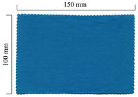 Hadřík na brýle z mikrovlákna jednobarevný - modrý 100x150