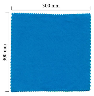 Hadřík na brýle z mikrovlákna jednobarevný - modrý 300x300