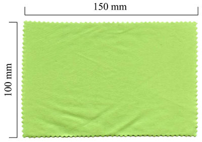 Hadřík na brýle z mikrovlákna jednobarevný - zelený 100x150