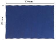 Hadřík na brýle z mikrovlákna jednobarevný - fialový 120x170