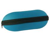 Pouzdro na brýle se zipem - světle modré