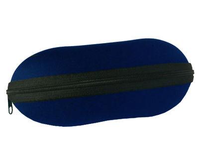 Pouzdro na brýle se zipem - tmavě modré
