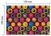 Hadřík na brýle z mikrovlákna Smiley - Smiley černé