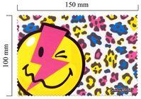 Hadřík na brýle z mikrovlákna Smiley - blesk