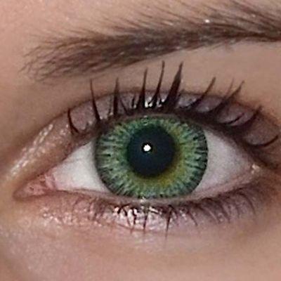 2b204060a ColourVue Fusion - Yellow Green (2 čočky tříměsíční) - nedioptrické ...